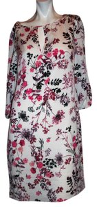 Adrianna Papell Embroidery Dress
