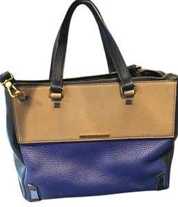 Marc Jacobs Blue Navy Casual Leather Messenger Bag