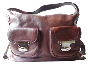 Marc Jacobs Made In Italy Leather Aged Shoulder Bag