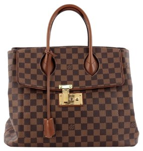 Louis Vuitton Damier Satchel in Brown