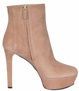 Gucci Ankle Ankle Platform Beige Boots