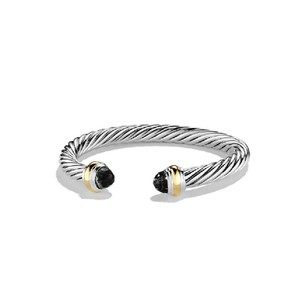 David Yurman David Yurman 7MM Black Onyx Cable Classics Bracelet