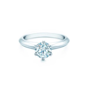 Tiffany & Co. Tiffany & Co. Platinum Diamond Engagement Ring 1.25 Carats