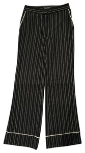 Vince Camuto Wide Leg Pants Black/White