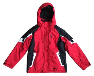 Spyder Red, Black and White Jacket