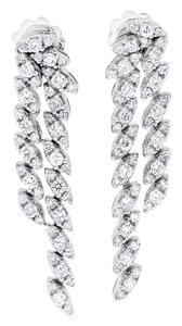 Other 1.63 Carat Natural Diamond Chandelier Marquise Style Earrings In Solid