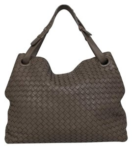 Bottega Veneta Bella Brown Tote in Light Brown