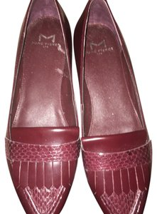 Marc Fisher wine burgundy bordeux Flats