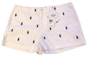 Ralph Lauren Mini/Short Shorts White