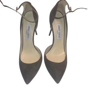 Jimmy Choo Grey Pumps
