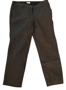 J.Crew Straight Pants grey, gray, black, plaid, checkered