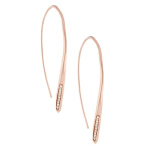 Kendra Scott Julian Threader Earrings In Rose Gold