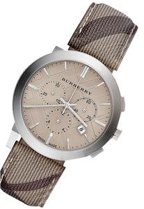 Burberry NEW AUTHENTIC BURBERRY BU9361 BROWN LEATHER CHRONOGRAPH WATCH