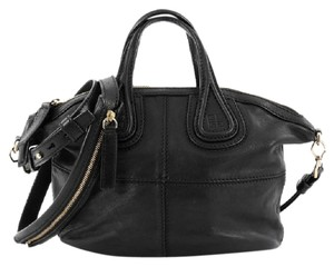 Givenchy Crossbody Leather Satchel in Black