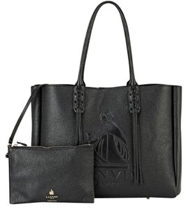 Lanvin Tassel Tote in Black