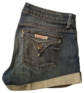 Hudson Jeans Mini/Short Shorts Blue/Denim