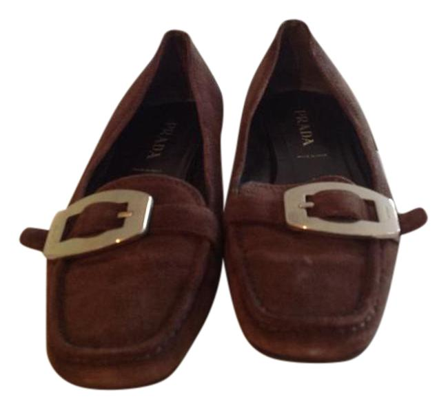 Item - Brown Sport Flats Size US 7 Regular (M, B)
