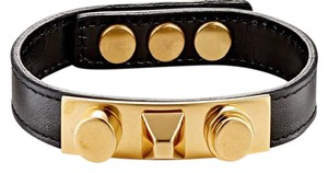 Saint Laurent Gourmette Clous Bracelet
