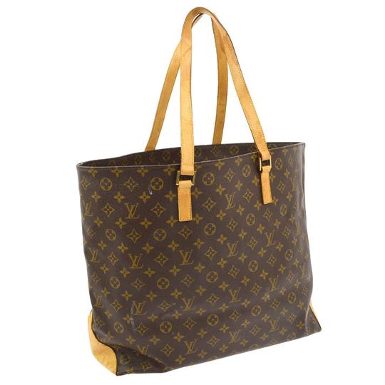 Preload https://item4.tradesy.com/images/louis-vuitton-cabas-alto-leather-shopping-tote-brown-monogram-canvas-shoulder-bag-20571188-0-1.jpg?width=440&height=440