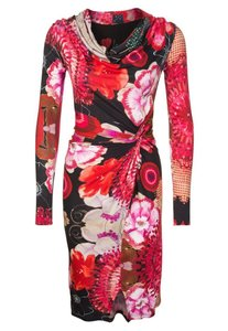 Desigual Floral Colorful Dress
