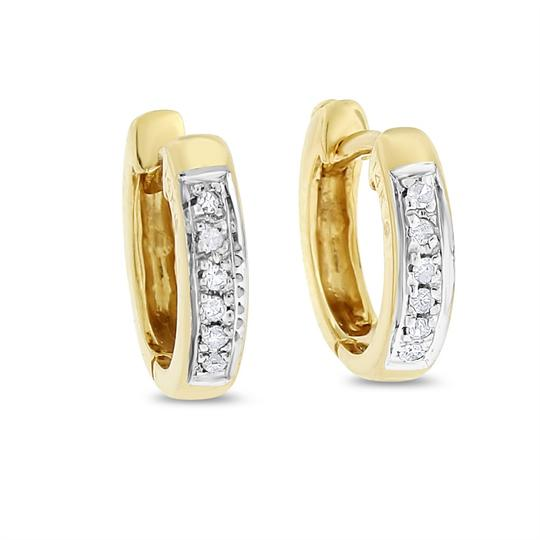 Preload https://img-static.tradesy.com/item/20571325/010-ct-natural-small-diamond-huggie-in-solid-14k-yellow-earrings-0-0-540-540.jpg