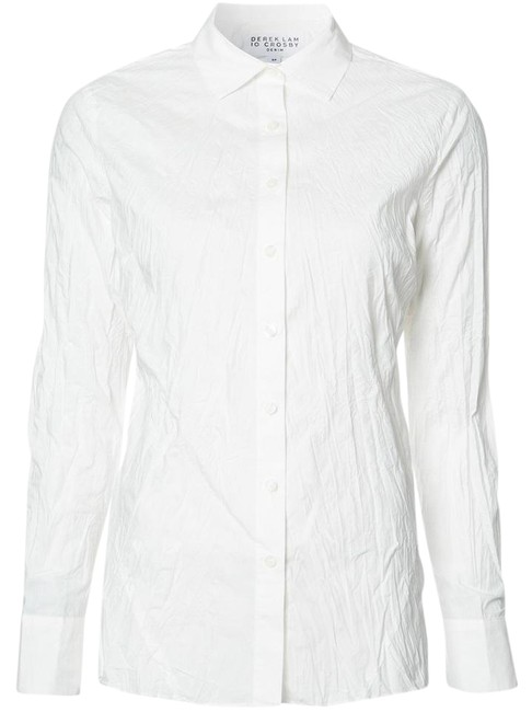 Preload https://item3.tradesy.com/images/derek-lam-white-jr71705po-shirt-button-down-top-size-8-m-20571357-0-5.jpg?width=400&height=650