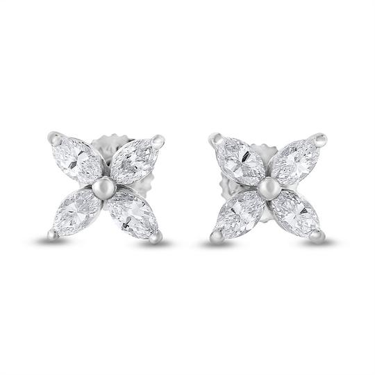 Preload https://item2.tradesy.com/images/102-ct-natural-diamond-marquise-flower-studs-in-solid-14k-earrings-20571361-0-0.jpg?width=440&height=440