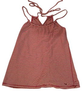 Hollister Top red, white, stripe