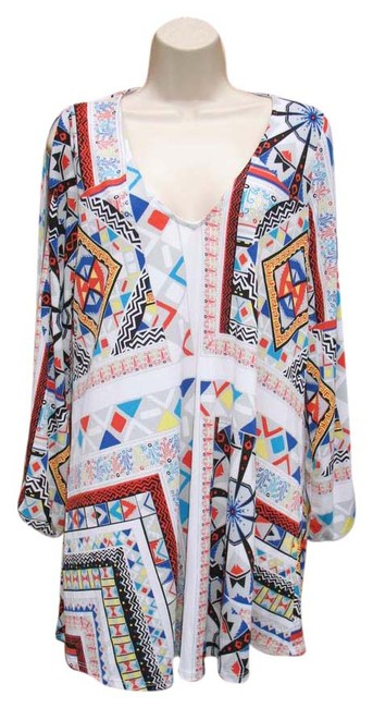 Preload https://item1.tradesy.com/images/rubber-ducky-productions-inc-multicolor-split-sleeve-dress-tunic-size-8-m-20571460-0-2.jpg?width=400&height=650
