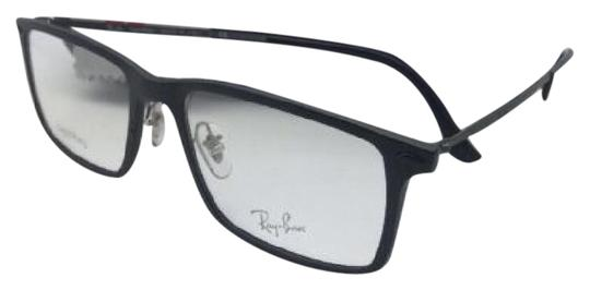 Preload https://img-static.tradesy.com/item/20571467/ray-ban-new-light-ray-rb-7050-2077-54-18-matte-black-and-gunmetal-frame-sunglasses-0-1-540-540.jpg