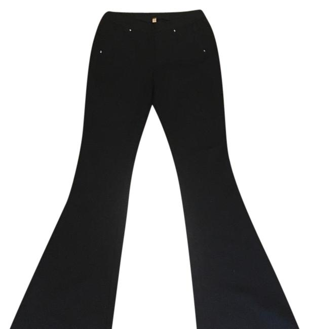 Preload https://item5.tradesy.com/images/free-people-black-super-flared-pants-size-8-m-29-30-20571614-0-1.jpg?width=400&height=650
