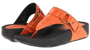 Gabriella Rocha Orange Sandals