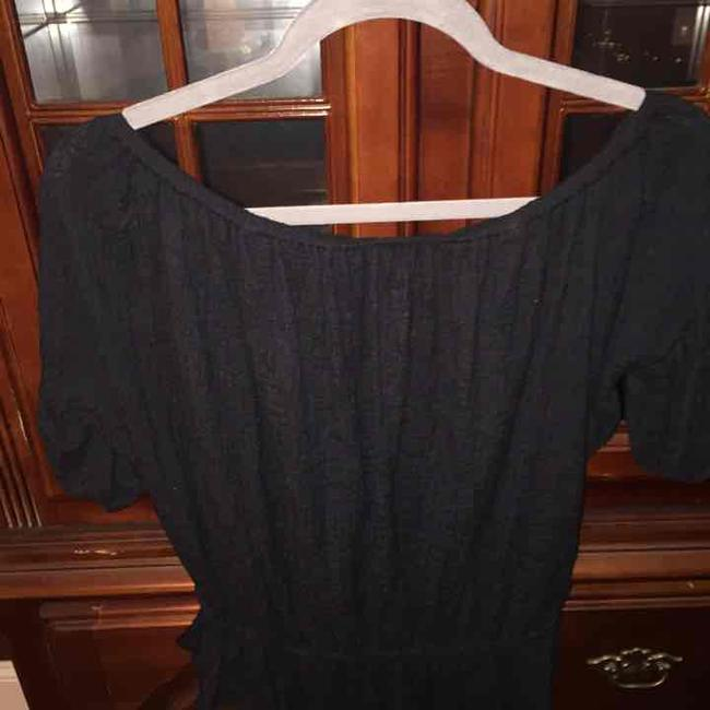 Free People Shoulders Bare Cropped Chill Top Black