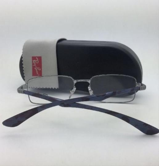 Ray-Ban RAY-BAN Rx-able Eyeglasses TECH 8414 2502 53-18 Gunmetal-Carbon Fiber