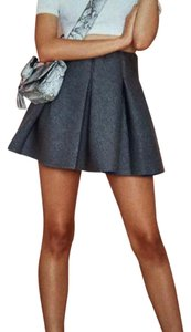 Nasty Gal Mini Skirt Gray