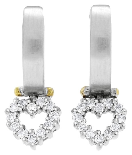 Preload https://item5.tradesy.com/images/036-ct-natural-diamonds-love-heart-matte-finish-in-solid-14-earrings-20571854-0-1.jpg?width=440&height=440