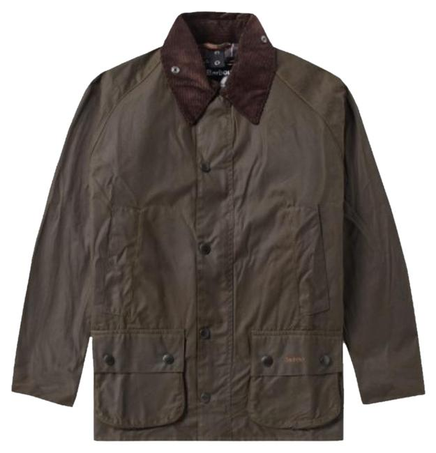 Preload https://item2.tradesy.com/images/barbour-olive-beadnell-raincoat-size-10-m-20571871-0-1.jpg?width=400&height=650