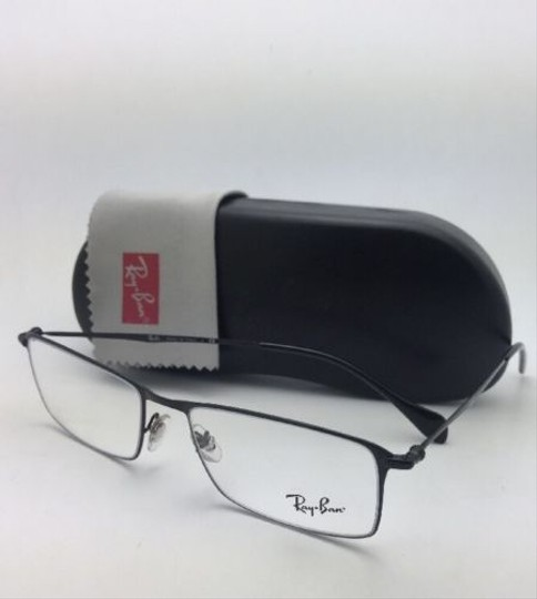 Ray-Ban New RAY-BAN Rx-able Eyeglasses RB 6290 2509 52-17 140 Black Frame