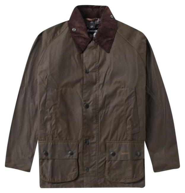 Preload https://item3.tradesy.com/images/barbour-rustic-beadnell-raincoat-size-12-l-20571967-0-1.jpg?width=400&height=650