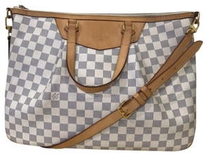Louis Vuitton Damier Azure Damier Canvas Satchel