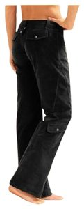 Athleta Boot Cut Pants Black Heather