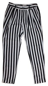 Silence + Noise Casual Relaxed Baggy Pants STRIPED