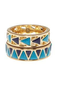 House of Harlow 1960 House of Harlow 1960 Heirloom Ring Set 7 Turquoise