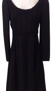 VALENTINO SILK BLACK DRESS SIZE 4 Dress