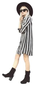 BB Dakota short dress Black and white Striped Bold Stripe Blogger Favorite on Tradesy