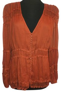 BCBGMAXAZRIA Top Brick