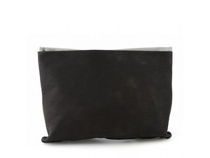 Nila Anthony Black/Grey Clutch