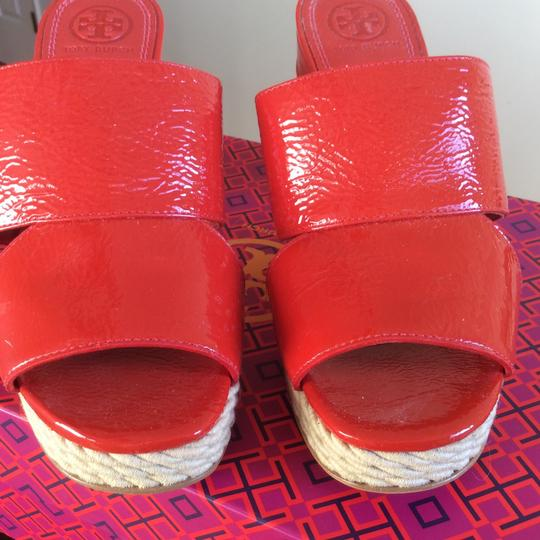 Tory Burch Candy Apple Sandals