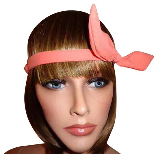 Preload https://item3.tradesy.com/images/coral-wire-bow-tie-bunny-ears-ribbon-bendy-elastic-headband-hair-accessory-20572372-0-1.jpg?width=440&height=440
