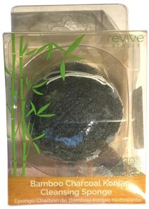 Revive Beauty Revive Beauty Bamboo Charcoal Konjac Cleansing Sponge ~NEW